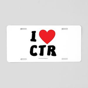 I Love CTR - LDS Clothing - LDS T-Shirts Aluminum