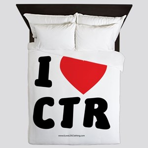 I Love CTR - LDS Clothing - LDS T-Shirts Queen Duv