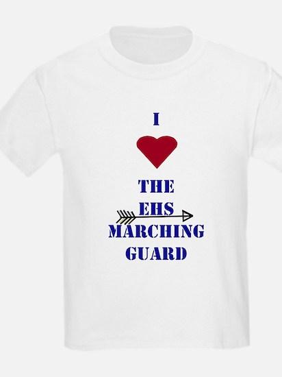I Heart The EHS Marching Guard Kids T-Shirt