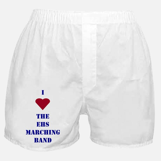 I Heart The EHS Marching Band Boxer Shorts