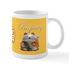 Japanese Fortune Cats Mug- Prosperity