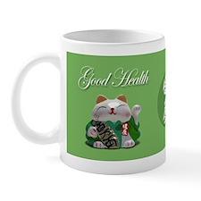 Japanese Fortune Cats Mug - Good Health