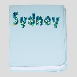 Sydney Under Sea baby blanket