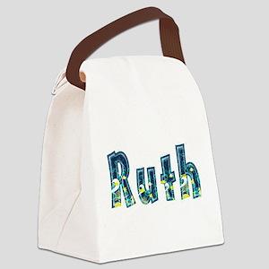 Ruth Under Sea Canvas Lunch Bag