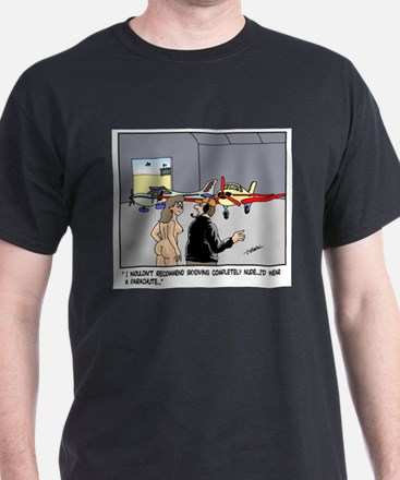 Nude Skydiver T-Shirt