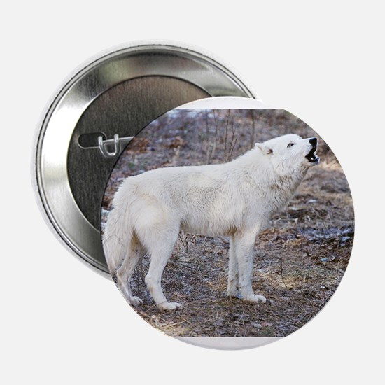 """Lost Wolf"" 2.25"" Button"