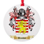 Brandon Round Ornament
