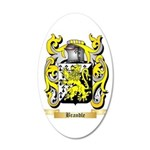 Brandle 20x12 Oval Wall Decal