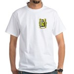 Brandeke White T-Shirt