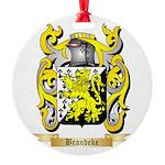 Brandeke Round Ornament