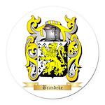 Brandeke Round Car Magnet