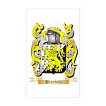 Brandeke Sticker (Rectangle)