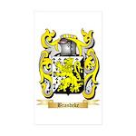 Brandeke Sticker (Rectangle 50 pk)
