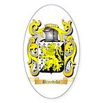Brandeke Sticker (Oval 50 pk)