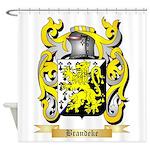 Brandeke Shower Curtain