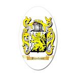 Brandassi 35x21 Oval Wall Decal