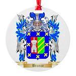 Branco Round Ornament