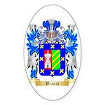 Branco Sticker (Oval 50 pk)