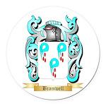 Bramwell Round Car Magnet