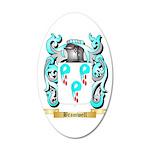Bramwell 20x12 Oval Wall Decal