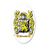 Bramson 35x21 Oval Wall Decal