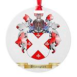 Brampton Round Ornament