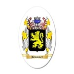 Brammer 35x21 Oval Wall Decal