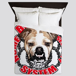 Bulldog Security Queen Duvet