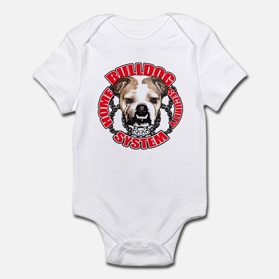 Bulldog Security Infant Bodysuit