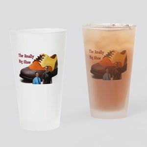 The Really Big Shoe Logo Drinking Glass