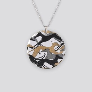 Leaping Hounds Necklace