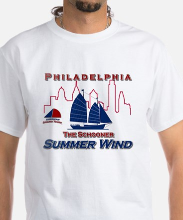 Summer Wind White T