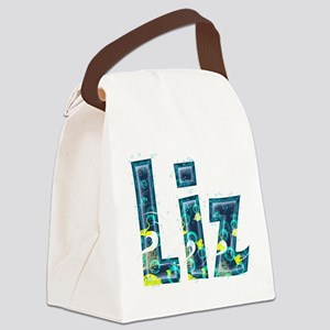 Liz Under Sea Canvas Lunch Bag