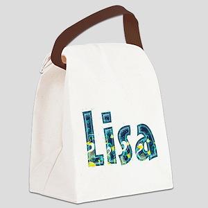 Lisa Under Sea Canvas Lunch Bag