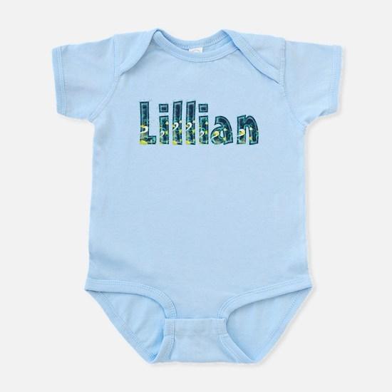 Lillian Under Sea Body Suit