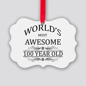 World's Most Awesome 100 Year Old Picture Ornament