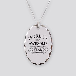 World's Most Awesome 100 Year Old Necklace Oval Ch