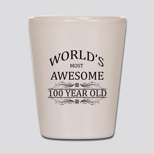 World's Most Awesome 100 Year Old Shot Glass