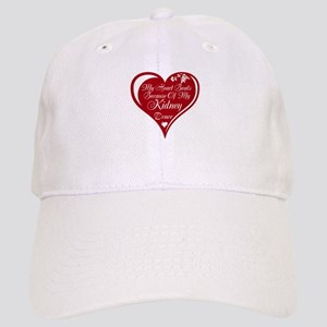 Personalize me Red Transplant Heart Cap