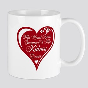 Personalize me Red Transplant Heart Mug