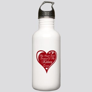 Personalize me Red Transplant Heart Stainless Wate