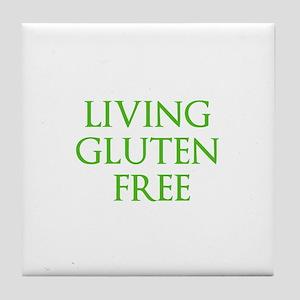 LIVING GLUTEN FREE Tile Coaster