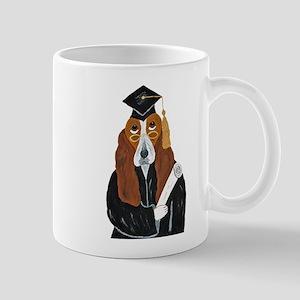 Basset Hound Graduate Mug
