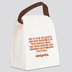 Envy And Jealousy Canvas Lunch Bag