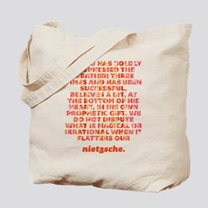 He Who Has Boldly Prophesied Tote Bag