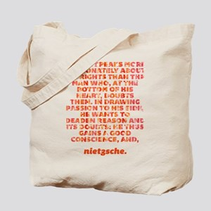 No One Speaks Tote Bag