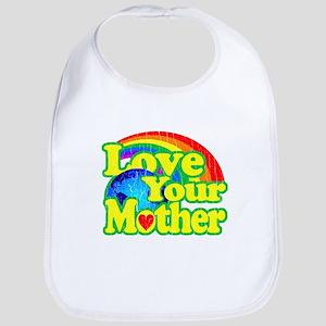 Retro Love Your Mother Bib