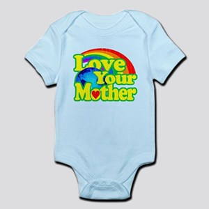Retro Love Your Mother Body Suit