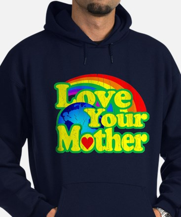 Retro Love Your Mother Hoodie