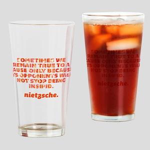 Remain True Drinking Glass